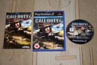 CALL OF DUTY 2 BIG RED ONE PS2 Sony PlayStation 2