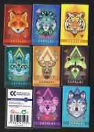 Wilk,jeleń,tygrys,kot,lis