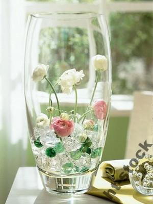Wazon Szklany 22 Cm Na Kwiaty Dekoracje 28896 Hit