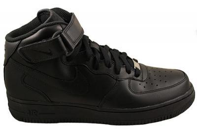 Buty Nike Air Force 1 Mid 07 r 43 CZARNE - 4258841668 - oficjalne ... 50d31a54d5cd