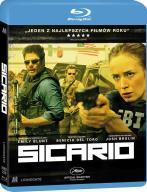 Sicario [ Blu-ray ] Benicio Del Toro Nowy w folii