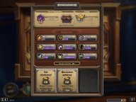 Konto Hearthstone 42 legendy( 2 złote ) STANDARD