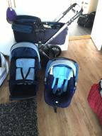 Wózek JANNE 3w1
