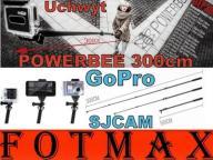 POWERBEE RAMIĘ WYSIĘGNIK 100-300cm GOPRO 2 3 3+ 4
