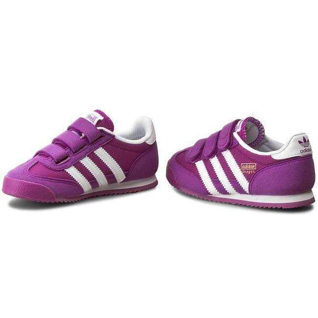 Adidas Dragon buty sportowe rzepy 28 16,5 dzieci