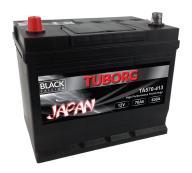 AKUMULATOR TUBORG JAPAN 70AH 630A L+