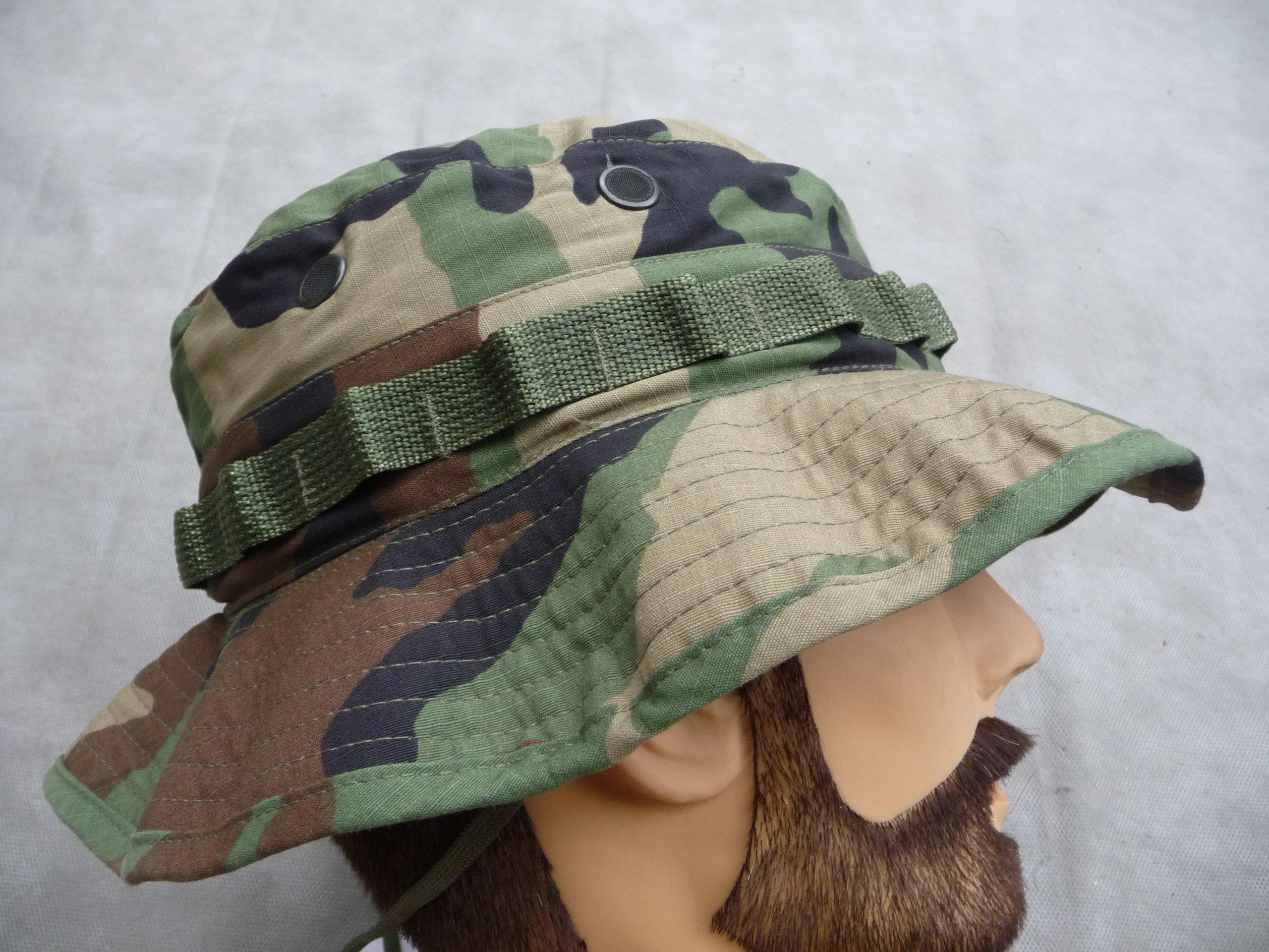 NOWY KAPELUSZ BOONIE HAT WOODLAND US ARMY USMC
