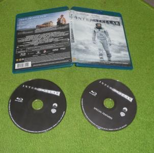 INTERSTELLAR ^^ 2 X BLU-RAY ^^ 2015