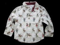 REBEL koszula RENIFERY Święta 92cm