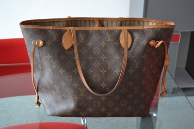 b16eda8bf7302 Torebka Louis Vuitton NEVERFULL-mm ORYGINAŁ - 6771059108 - oficjalne ...