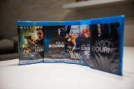 BluRay - 5x BOURNE - ZESTAW Komplet FOLIA