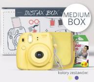 Aparat FujiFilm INSTAX MEDIUM BOX 2017 żółty