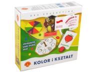 ALEXANDER Gra edukacyjna Kolor i Kształt Sowa 0397