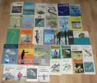 WĘDKARSTWO , NA RYBY , WĘDKA x33 książki !!!!!!