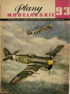 Plany Modelarskie PM 93 Hawker TYPHOON