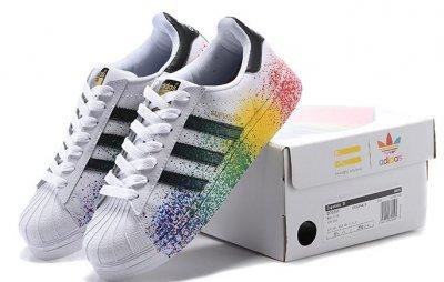 sale retailer 10888 3ef41 ADIDAS SUPERSTAR LGBT D70351 R.40-44 PRIDE PACK - 6189862467 ...