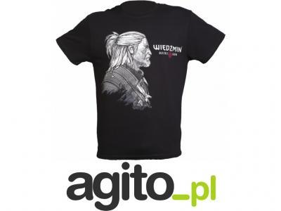 Koszulka Tshirt męski Wiedźmin 3: Dziki gon r. L  7pAaj