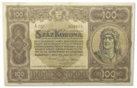 14.Węgry, 100 Koron 1920, P.63, St.3+