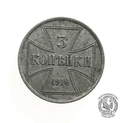 1794. POLSKA 3 KOPIEJKI 1916 A