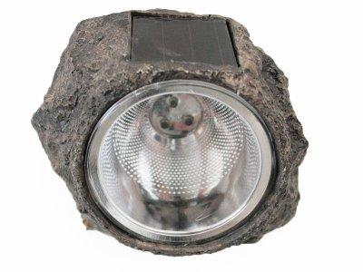 Lampa Solarna Ogrodowa Kamień Blooma 3xled