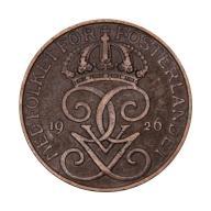 5 ore 1926 Szwecja Gustaw V st.III