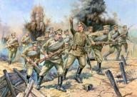 ZVEZDA WWI Russian Infantry