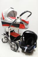 Bebetto Murano 3w1 + Maxi-Cosi Cabriofix - GWARANC
