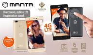 Smartfon MANTA Mezo 1 MSP95013 Etui Folia