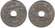 39(4) - Tunezja,10 Centimes 1918