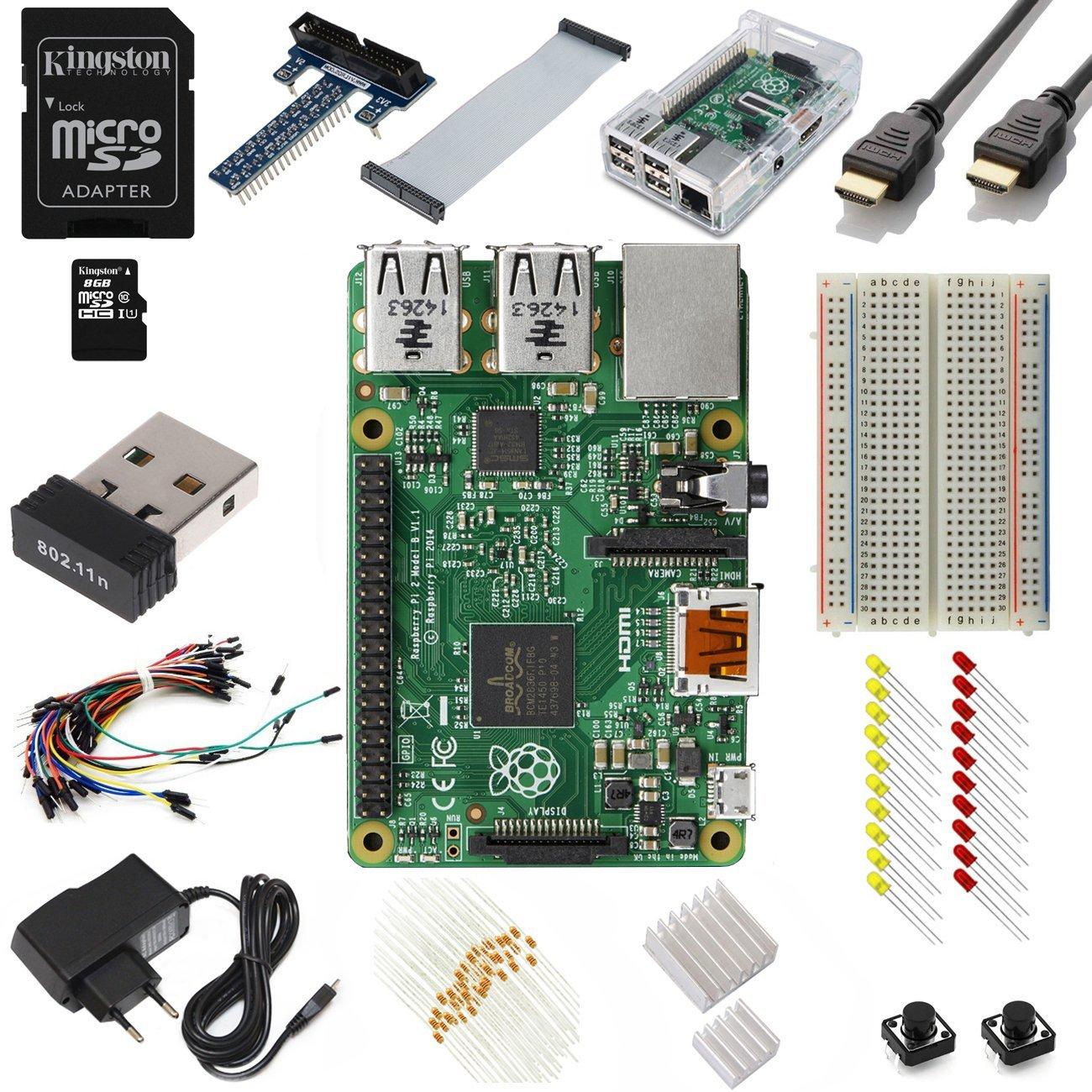 B553 Zestaw Vilros Raspberry Pi 2 Model B Ultimate