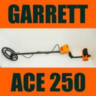 GARRETT 250 ACE Wykrywacz metali używany jak nowy