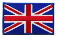 Naszywka na rzep FLAGA UK Wielkiej Brytanii 75x45
