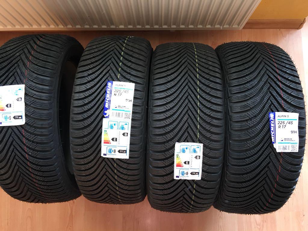 4x Opony Zimowe 2254517 Michelin Alpine 5 7052385710 Oficjalne