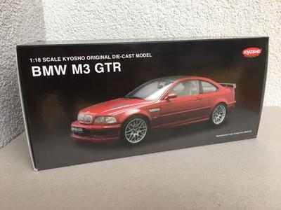 Bmw M3 Gtr E46 Red 1 18 Kyosho 6924716794 Oficjalne Archiwum Allegro