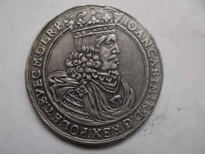 Polska - Talar 1661 - Jan Kazimierz