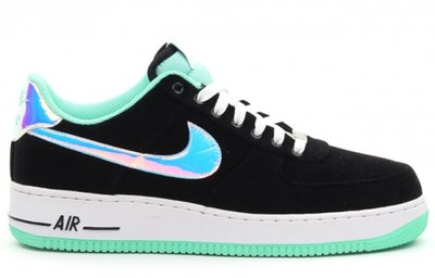 nike air force holograpic