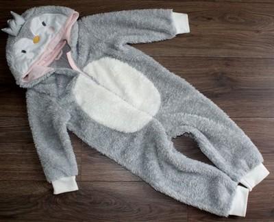 MOTHERCARE pingwin CIEPŁA piżama ŚPIWOREK 2-3 lata
