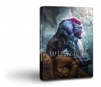 Gra PC Wiedźmin 1 Ed. 10 Lecia w STEELBOOK