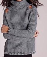 A14274: Sweter Missguided golf wycięcia casual M