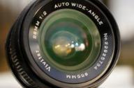 *  VIVITAR 28mm 1:2,0  AUTO WIDE-ANGLE  *
