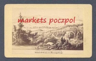 KOWARY Karkonosze 1880 - foto kartonik