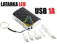 ŁADOWARKA LATARKA AKUMULATOR POWER BANK 5600MAH