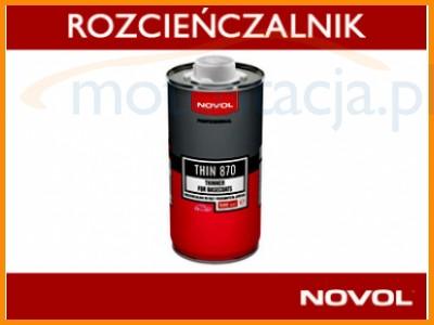 NOVOL THIN 870 ROZCIEŃCZALNIK DO BAZ 500ML