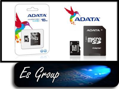 class10 ADATA 16GB microSDHC FullHD adapter SD