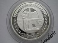 KIRGISTAN - 10 SOM - 2005 - 60 ROCZN. ZWYCIĘSTWA