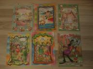 Karteczki Wik i Zając Czerwony kapturek Jaś i Małg