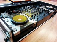Pioneer CDJ 400 + DJM 800 + Case + Torby UDG