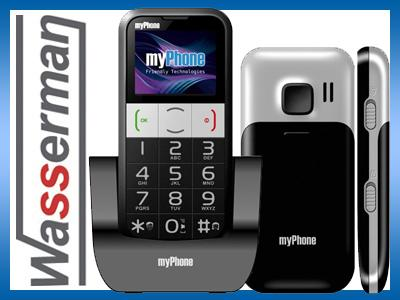 MyPhone 1082 Elegant dla Seniora + baza ładująca