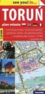 Toruń plan miasta 1:20 000  24h