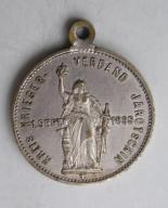 Prusy medal Jarocin 1895 rocznica wojny z Francją